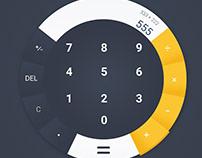 Calculator Design - Daily UI - iamkakati