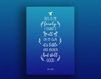 Disney-Pixar Type Posters 2