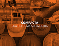 COMPACTA - Sua reforma sob medida // Logotipo