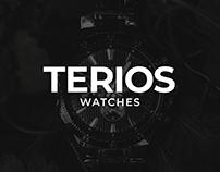 Terios Watches - Logo Design