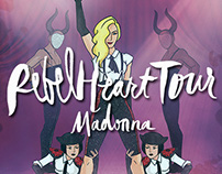 Fã Arte para Madonna - Rebel Heart Tour