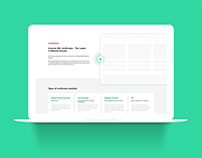 SSL online store website design