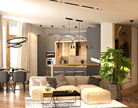 Design from KSD: Interior for Apartment with Terrace