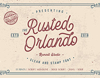 FREE FONT - Rusted Orlando