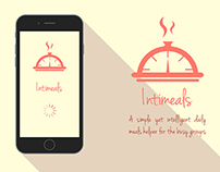 Intimeals - Calorie Counter Mobile Application
