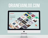 Website launch - orianevanloo.com