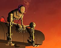 Chilling Droid (taking a break is always a good idea)