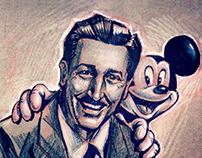 Portraites_Walt Disney