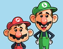 Mario Brothers - Fanart