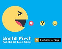 Facebook Live Game - Pacman