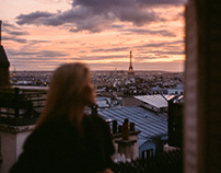 Caroline Lossberg in Paris.