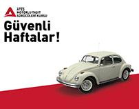 Ateş Driving School Social Media Post Images