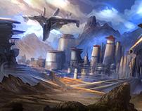 TEMPLE - Fantasy Environment Concept Art (COPY) (COPY)