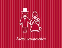 Line Art Wedding Invitation