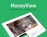 MoneyView Website Redesign