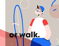 Chilled walk cycle