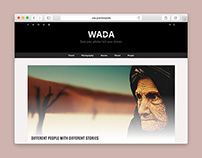 WADA - A BLOGGING WORDPRESS THEME