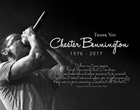 Memoriam - Thank You Chester Bennington 1976-2017