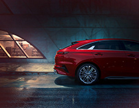 THE NEW KIA PROCEED CAMPAIGN - SIDESHOTS