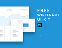 Free Download Wireframe UI Kit