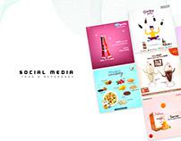 Social Media - Food & Beverages