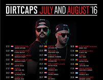 Dirtcaps Summer Tour 2016
