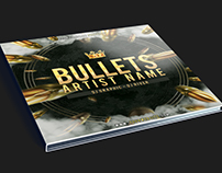 Bullets CD Cover Artwork PSD Template