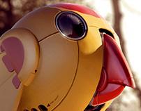 Robot birdy