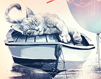 Cats at sea