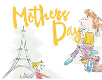 Mother's Day Illustrations