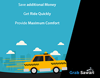 GrabSawari SMM Content Calendar, Strategy & Creative