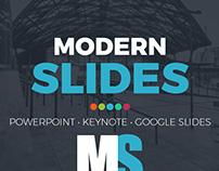 Modern Slides Powerpoint Template