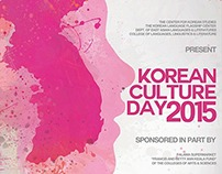 Korean Culture Day 2015 [UH Manoa]
