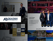 Real Estate Website Design - Altman Brothers