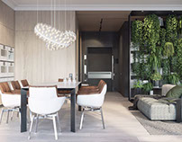 Apartment in Moscow by ONI Architects
