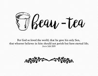 Sample Cards For Tea