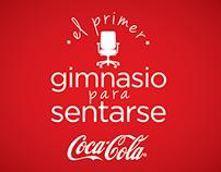Gimnasio para sentarse -  Coca-Cola