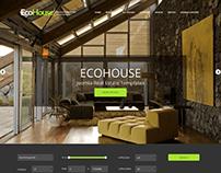 Eco House - Joomla Real Estate template