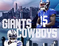Giants x Cowboys - NFL Week 1