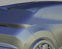 Autodesk alias-surface modeling of Tata 45X-concept2018