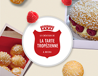 Site Vitrine : La Tarte Tropézienne