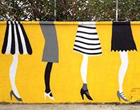 """Legs"" Street Art"