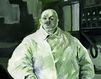 Acrylic study: The Pastry Cook