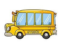 Bus yellow