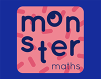 Monster maths Children's app
