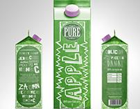 Graphic Campaign for Brand PURE