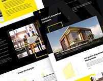 Redesign Website - Estúdio A/ Arquitetura