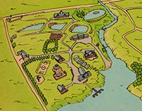 Divisa Eco Lodge Map