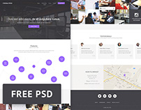 Collabo-Orbit - Free Co-working PSD web template