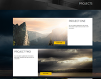 Veneration Photography Portfolio Website Concept